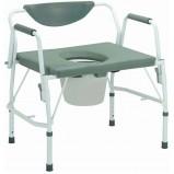 كرسي حمام ثابت للوزن الثقيل